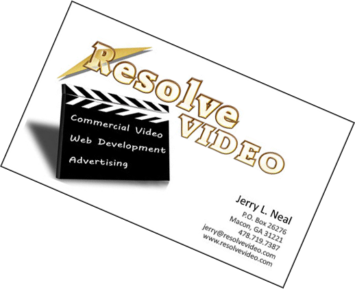 Resolve Video - Jerry Neal